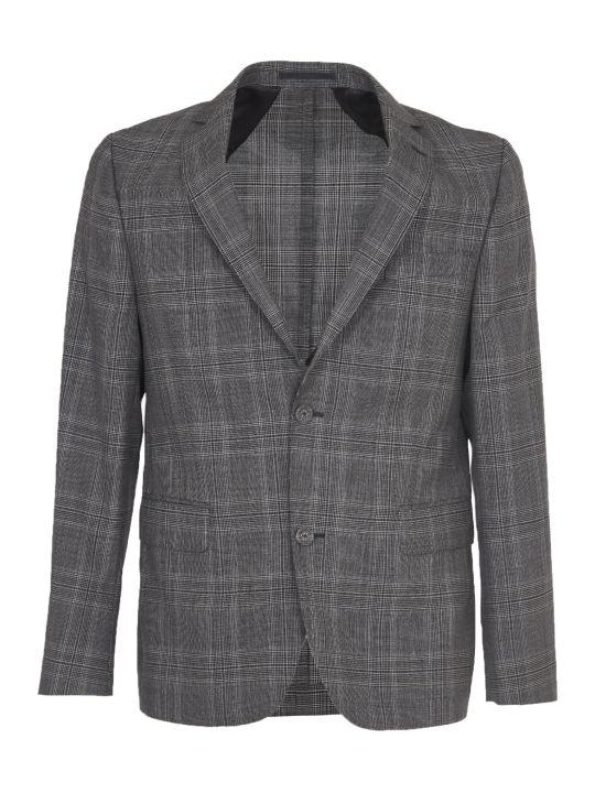 Officine Générale Checked Grey Jacket