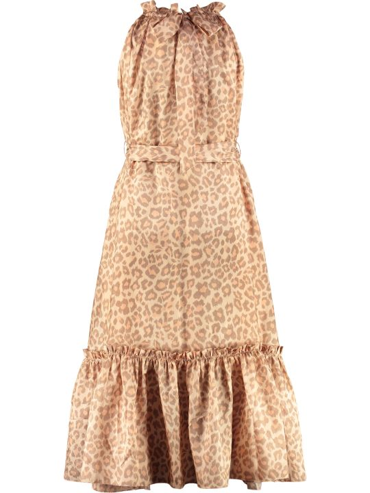 Zimmermann Kirra Printed Dress With Wrinkles
