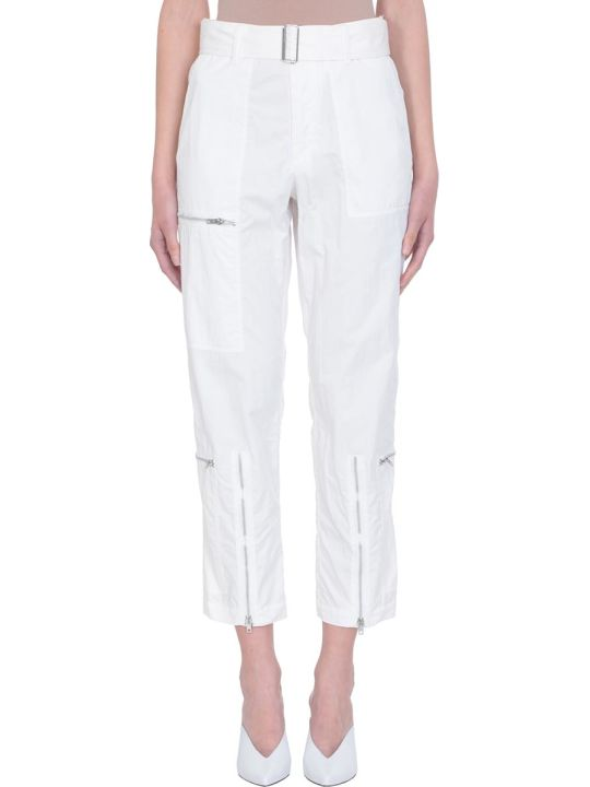 Helmut Lang Flight White Pants
