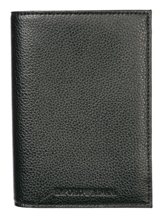 Emporio Armani  Travel Document Passport Case Holder