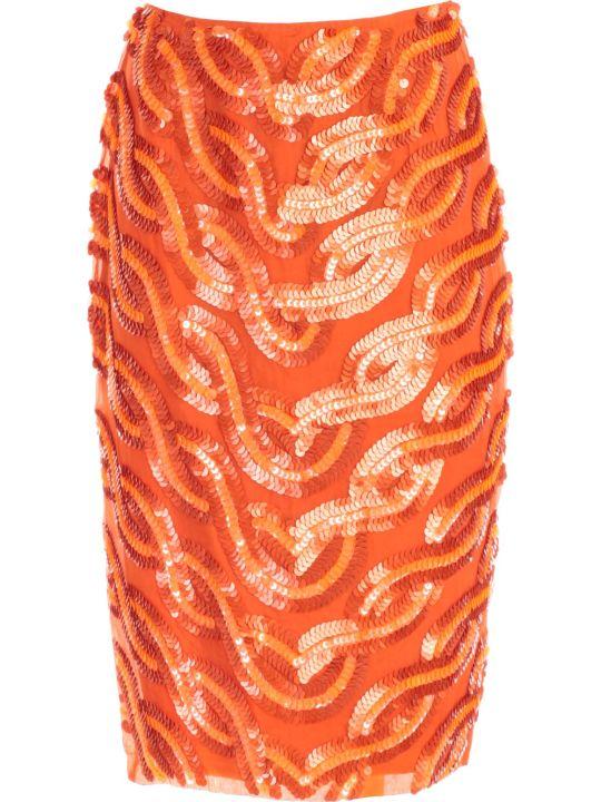 SEMICOUTURE Skirt Franci Pencil Paillettes