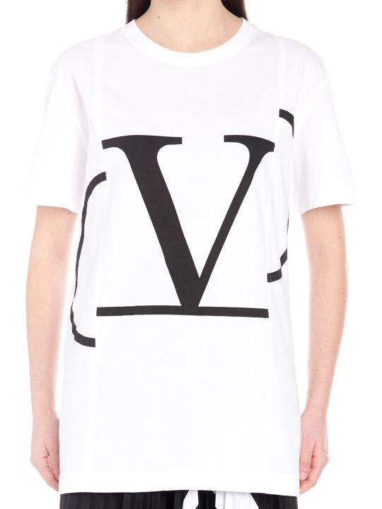 Valentino 'go Logo' T-shirt