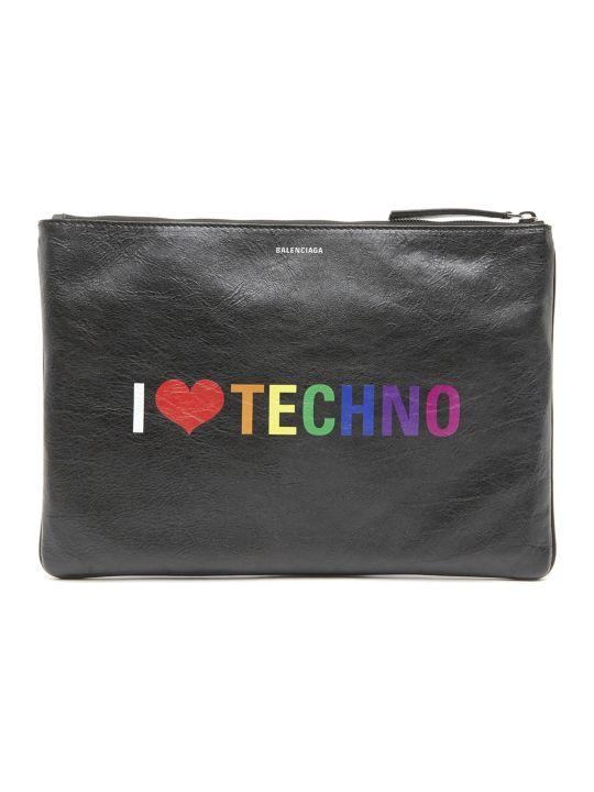 Balenciaga 'i Love Techno' Bag