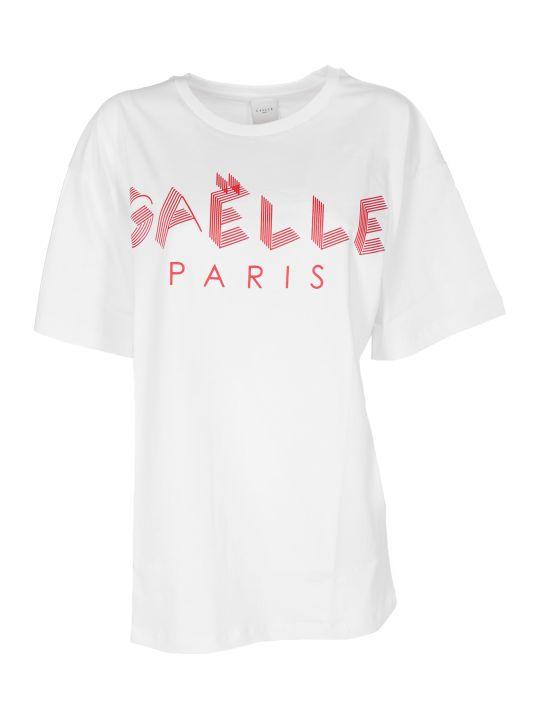 Gaelle Bonheur Logo Print T-shirt
