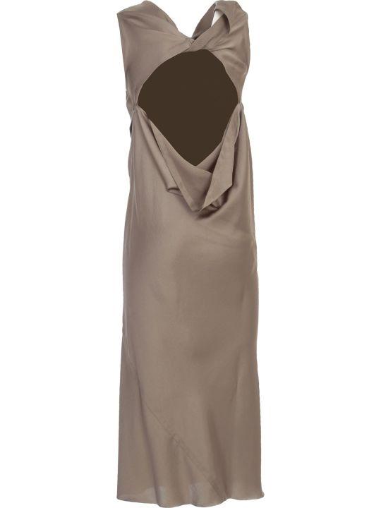 Rick Owens Skorpio Dress Viscose Polished