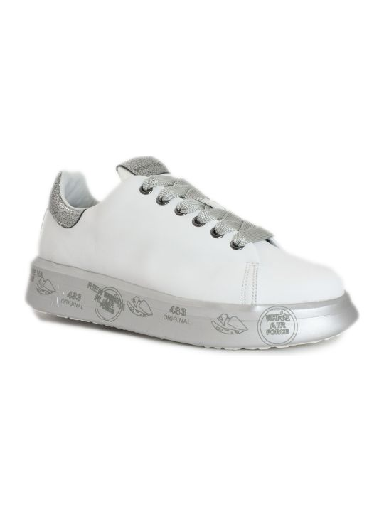 Premiata Belle Sneaker In White