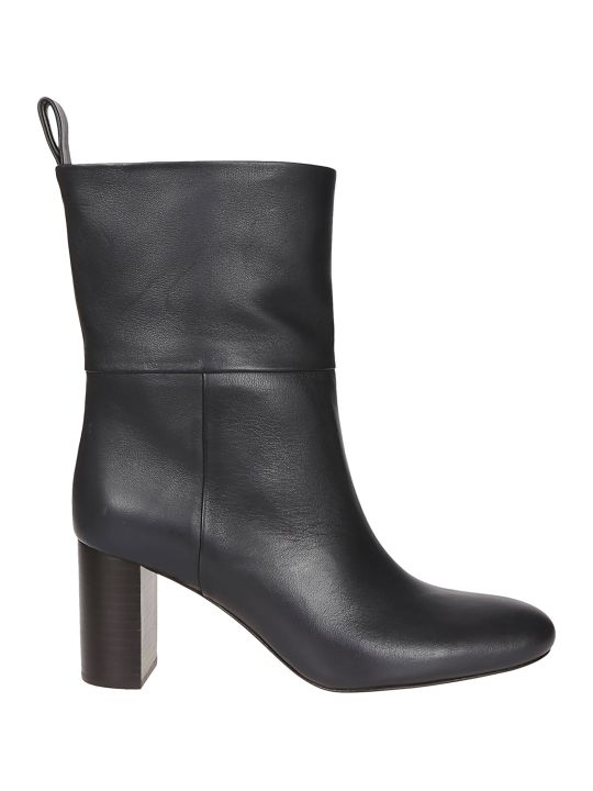 Jil Sander Navy Classic Ankle Boots