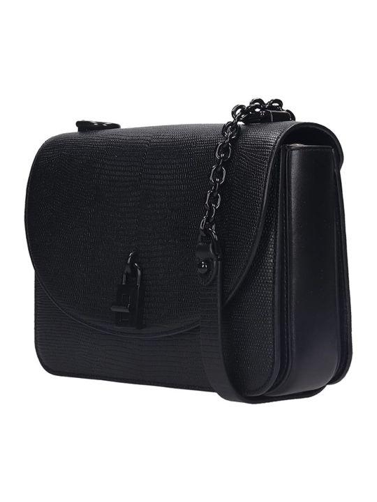 Rebecca Minkoff Love Too Shoulder Bag In Black Leather