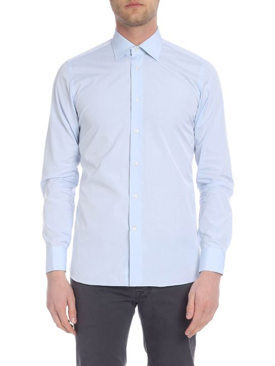 Borriello Napoli Classic Collar Cotton Shirt