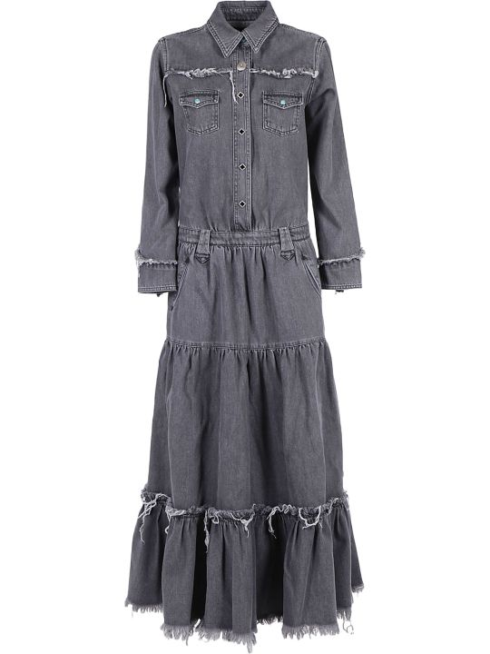 Alanui Denim Long Dress