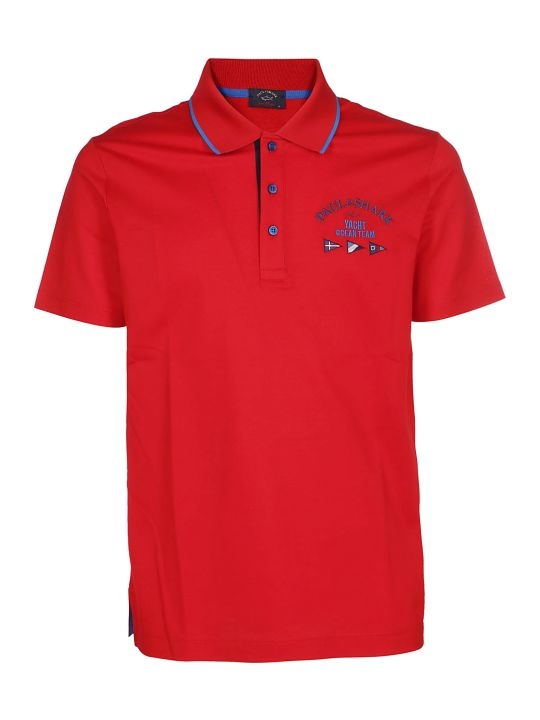 Paul&Shark Paul & Shark Embroidered Polo Shirt