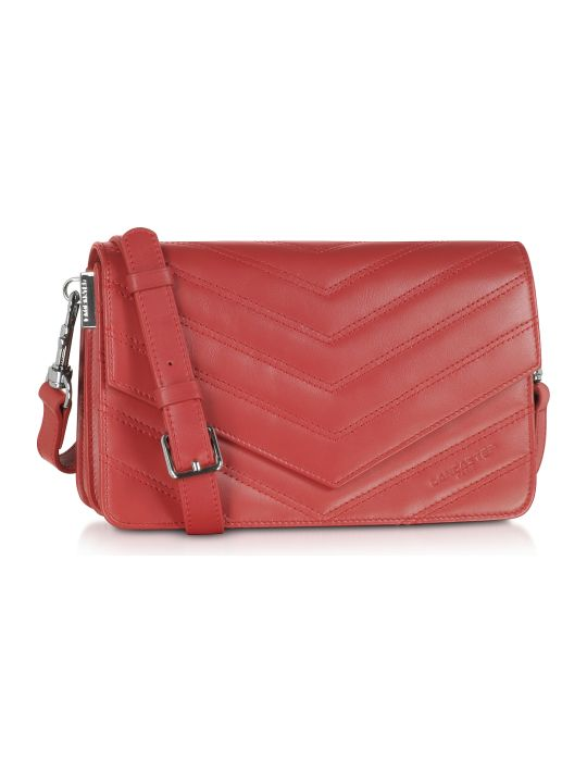 Lancaster Paris Parisienne Matelasse Leather Shoulder Bag