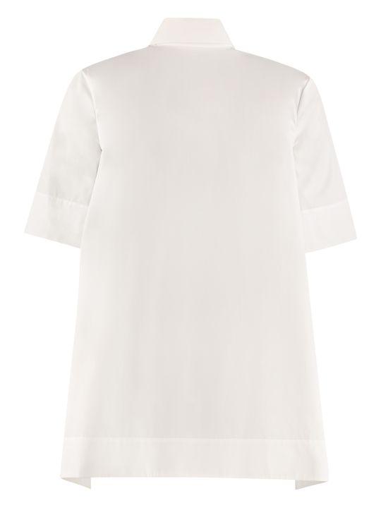 Salvatore Ferragamo Short Sleeves Cotton Shirt