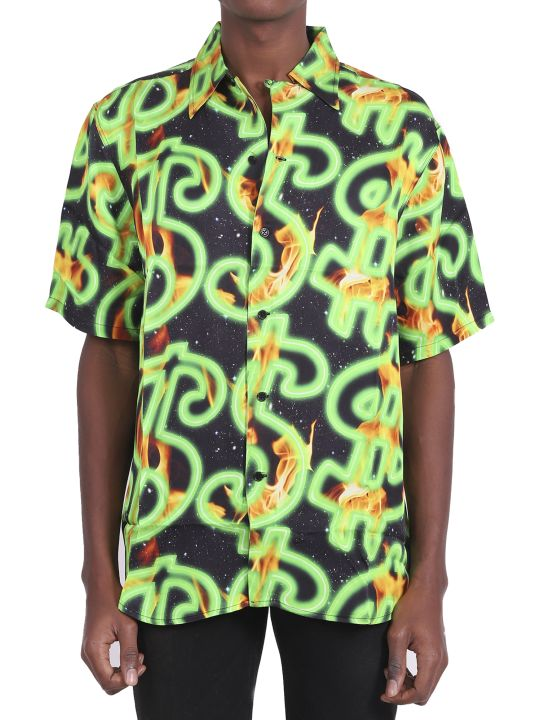 SSS World Corp Fire Hawaiian Shirt