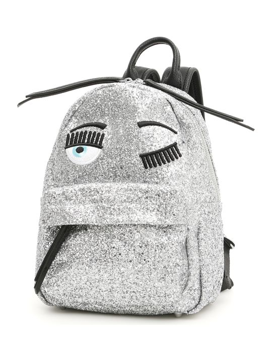 Chiara Ferragni Small Glitter Flirting Backpack