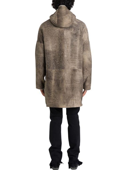 Giorgio Brato Reversible Shearling Parka With Hood