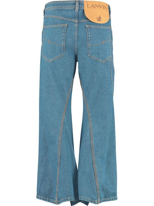Lanvin High-waist Wide-leg Jeans
