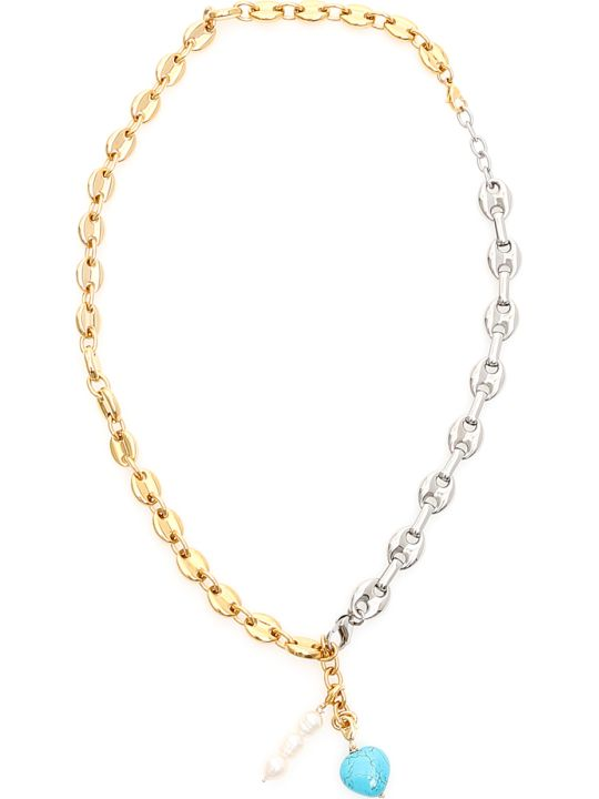 Timeless Pearly Two-chain Necklace