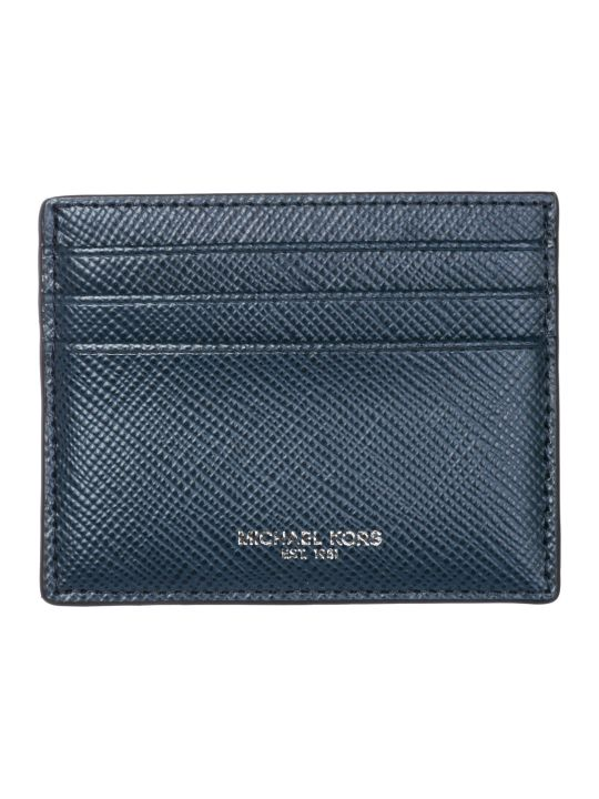 Michael Kors  Genuine Leather Credit Card Case Holder Wallet Harrison