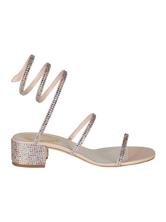 René Caovilla Rene Caovilla Crystal Embellished Sandals