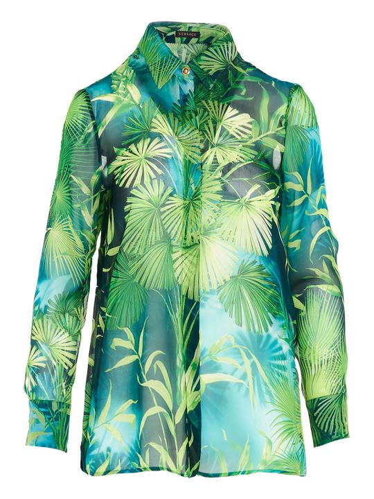 Versace 'jungle' Shirt