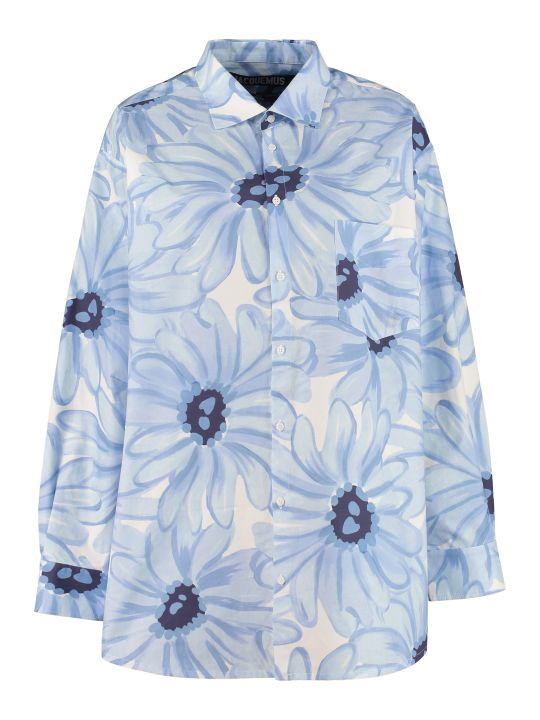 Jacquemus Printed Cotton Shirt