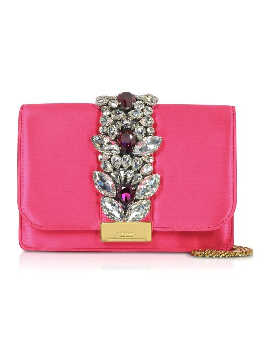 Gedebe Satin Cliky Clutch
