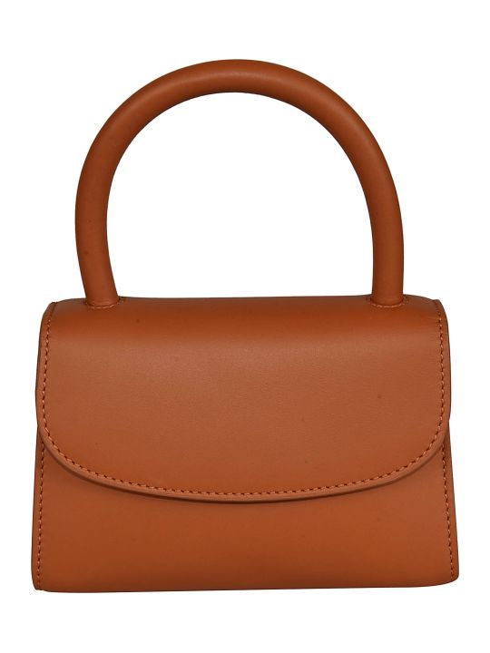BY FAR Mini Leather Tote