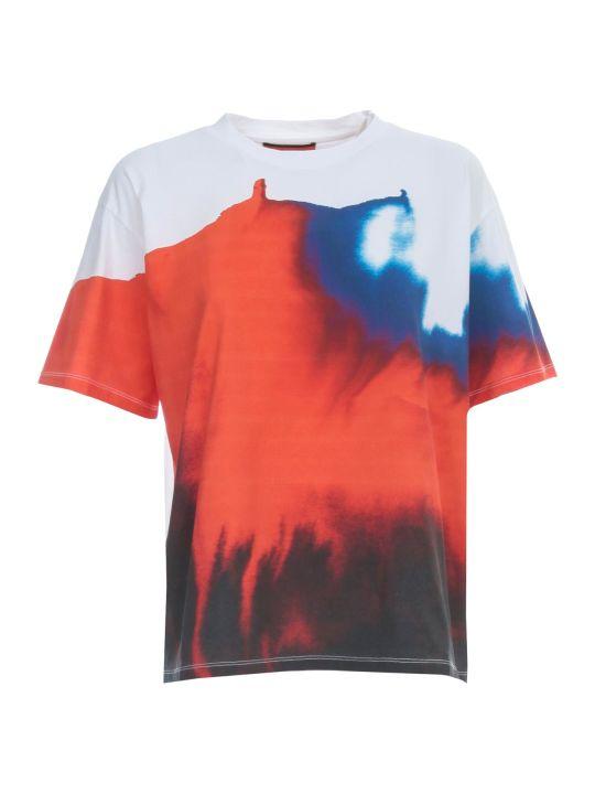Colville T-shirt S/s Crew Neck Aquarelle Print