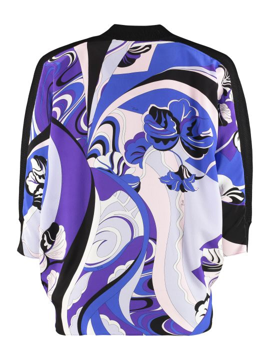 Emilio Pucci Silk And Wool Sweater