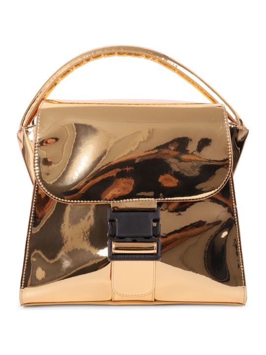 Zucca Gold Buckled Bag M