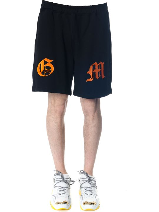 OMC Black Cotton Shorts