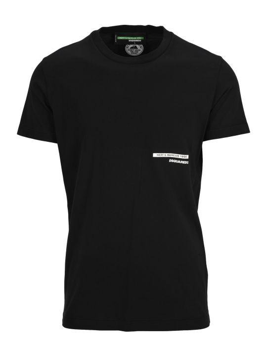 Dsquared2 D Squared Tshirt Kiss Print