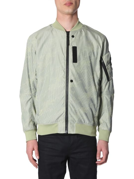 Stone Island Shadow Project Lenticular Jacquard Bomber