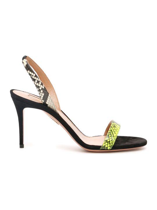 Aquazzura So Nude Sandals 85