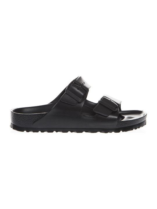 Birkenstock Black Arizona Slippers