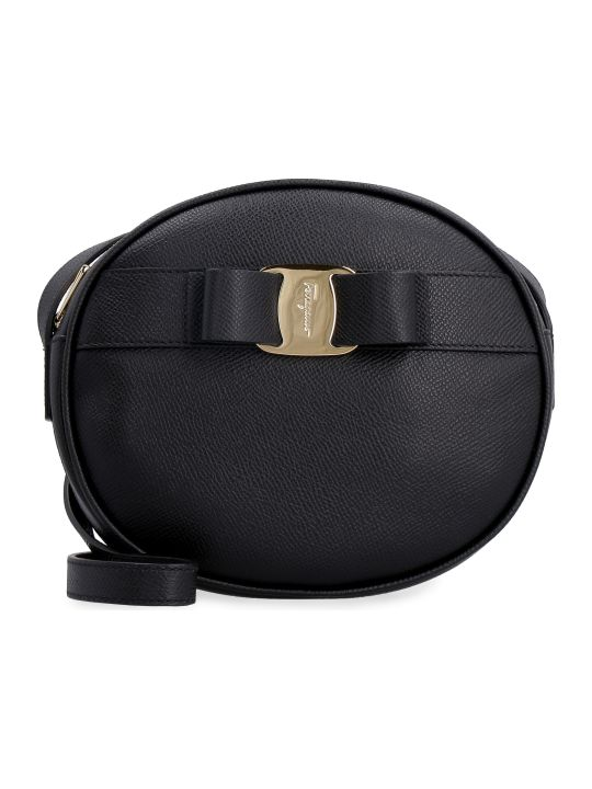 Salvatore Ferragamo Leather Mini Crossbody Bag