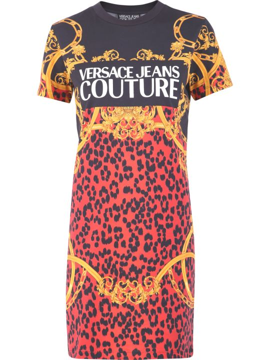 Versace Jeans Couture Printed Dress