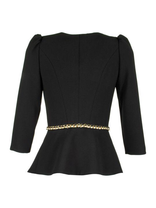 Elisabetta Franchi Celyn B. Jacket With Chain Insert