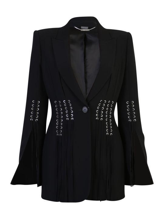 Alexander McQueen Viscose Crepe Jacket