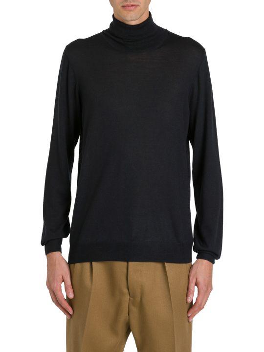 Tagliatore Black Turtleneck Sweater