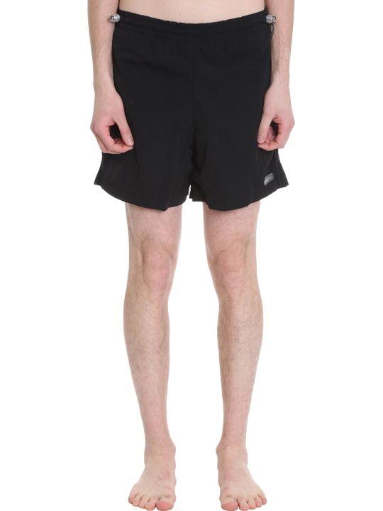MISBHV Black Polyester Shorts