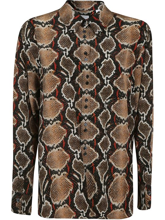 Burberry Snake-skin Effect Shirt