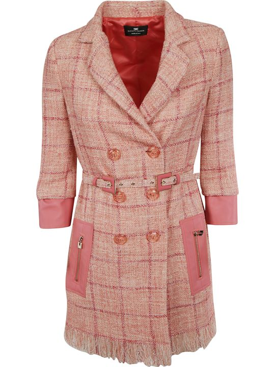 Elisabetta Franchi Celyn B. Elisabetta Franchi For Celyn B. Checked Coat