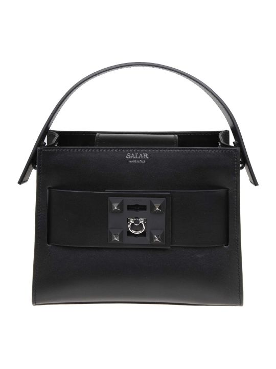 Salar Bag Lola Hand In Black Leather