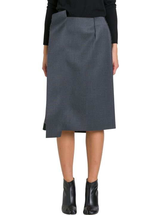Maison Margiela Unfinished Pencil Skirt
