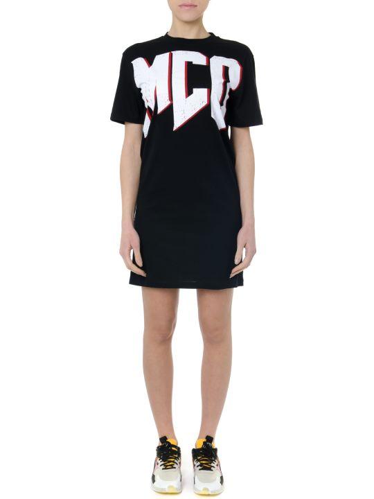 Alexander McQueen Mcq Black Short Cotton Dress