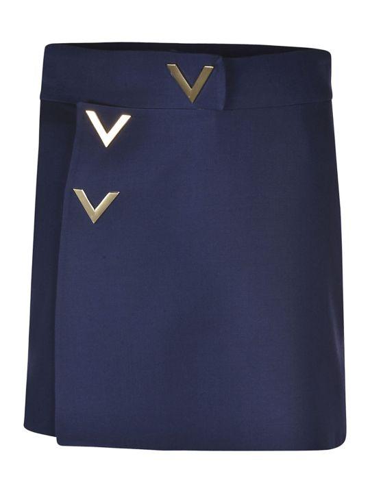 Valentino V Detailed Mini Skirt
