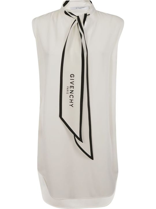 Givenchy Logo Bow Tie Dress