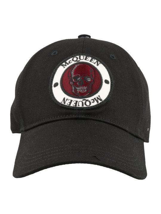 Alexander McQueen Badge Baseball Cap